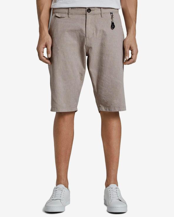 Tom Tailor Shorts Braun Grau