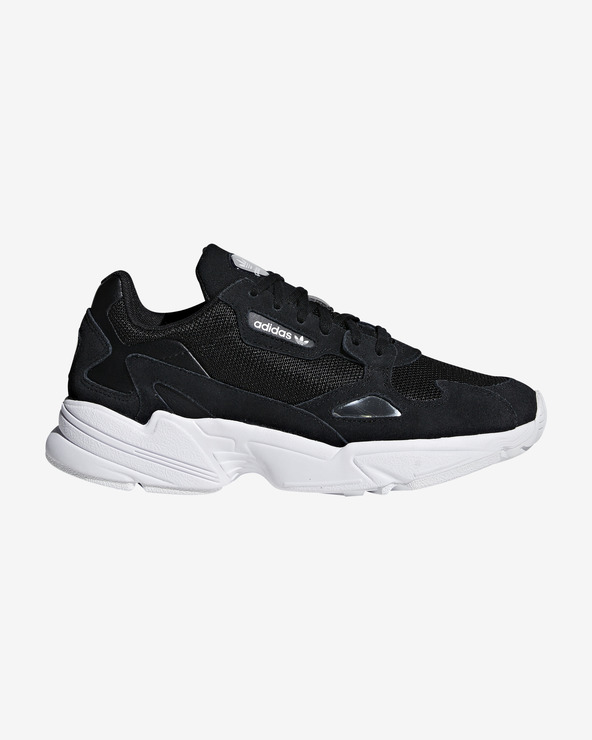 adidas Originals Falcon Tennisschuhe Schwarz Weiß