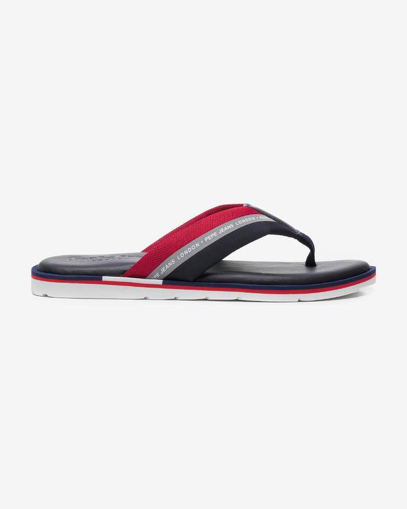 Pepe Jeans Barrel Reflective Flip-Flops Schwarz Rot