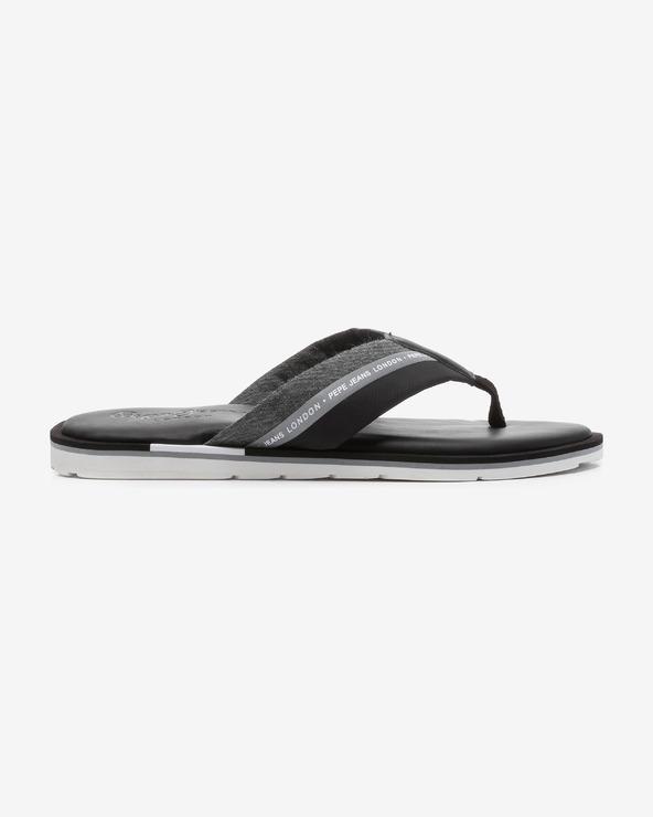 Pepe Jeans Barrel Reflective Flip-Flops Schwarz