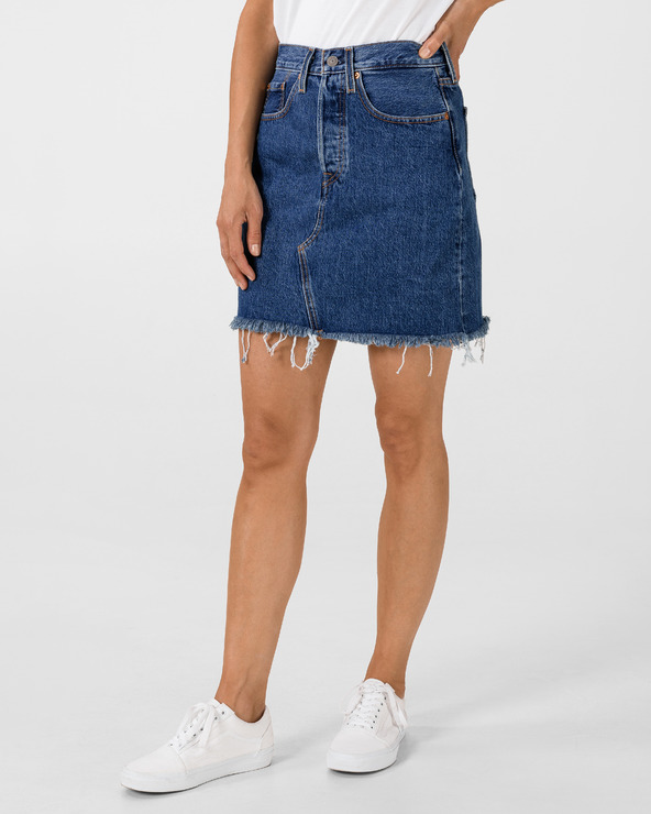 Levi's® Deconstructed Iconic Boyfriend Rock Blau