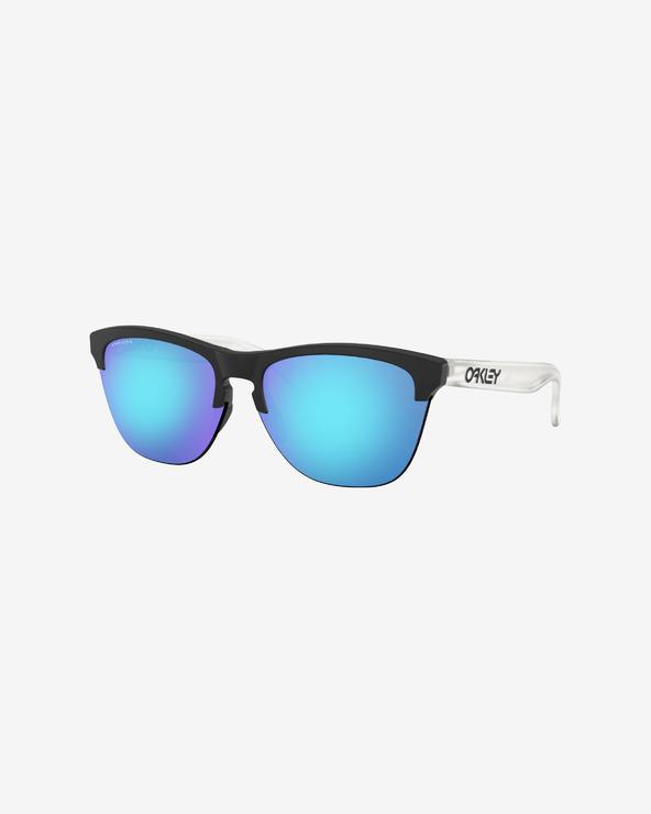 Oakley Frogskins Lite Sunglasses Schwarz Blau Weiß