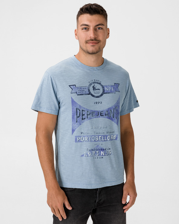 Pepe Jeans Harvey T-Shirt Blau