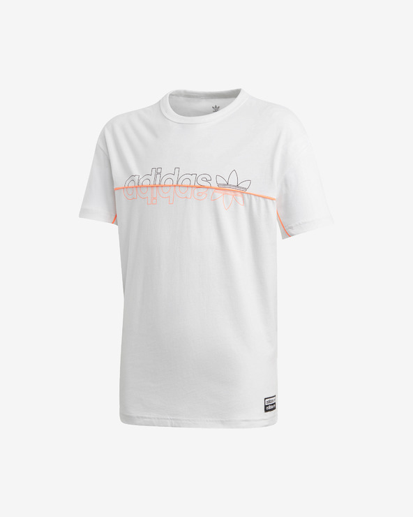 adidas Originals Kinder  T‑Shirt Weiß