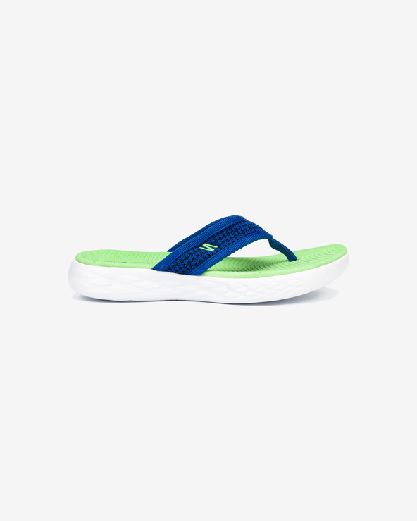 Skechers On The Go Flip-Flops Kinder Grün